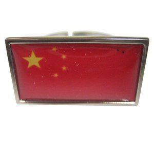 China Flag Fashion Ring